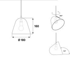 Tilt s  suspension pendant light  nyta tilts2 2 3  design signed 51770 thumb