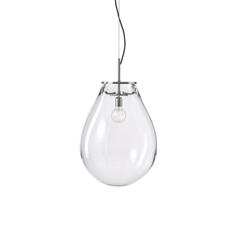 Suspension tim 02 nickel transparent o55cm h71 5cm bomma normal
