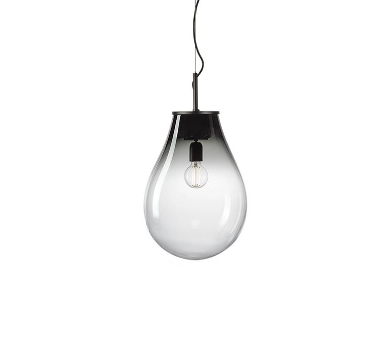 Tim small olgoj chorchoj suspension pendant light  bomma tim small grey  design signed nedgis 116885 product