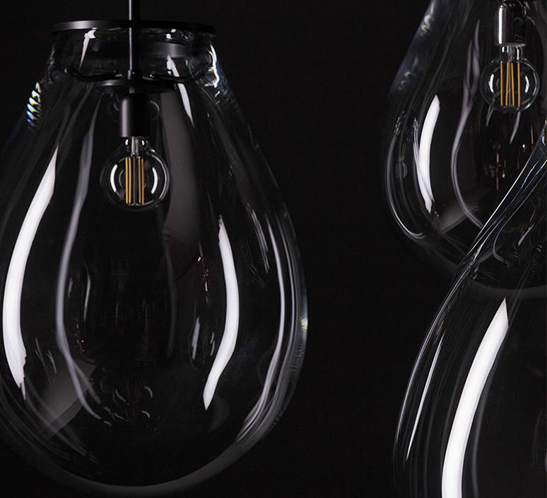 Tim small olgoj chorchoj suspension pendant light  bomma tim small grey  design signed nedgis 116887 product