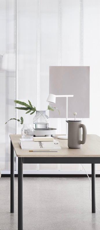 Suspension tip blanc led l16cm h40cm muuto normal