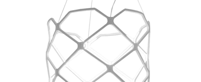 Suspension titia blanc led 2700k 3850lm o70cm h60cm nemo lighting normal