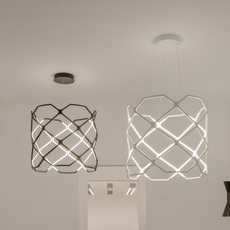 Titia arihiro miyake suspension pendant light  nemo lighting tit lww 51  design signed nedgis 68874 thumb