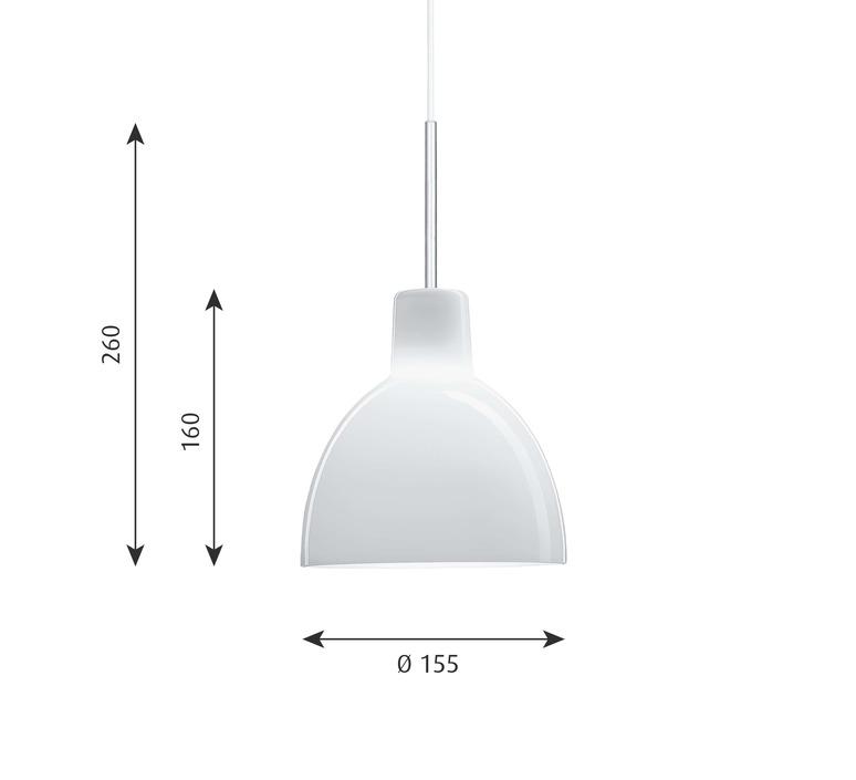 Toldbod 155 220 louis poulsen suspension pendant light  louis poulsen 5741094150  design signed nedgis 81989 product