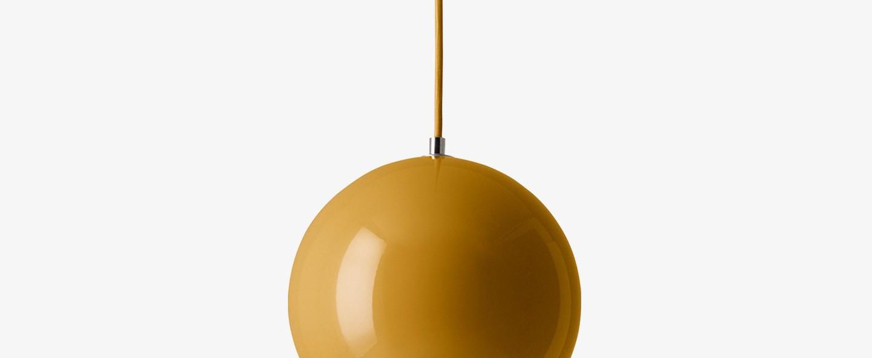 Suspension topan vp6 moutarde o21cm h19cm andtradition normal
