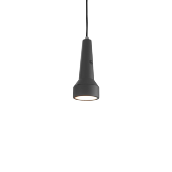 Suspension torcia gris fonce led o9cm h22cm karman normal