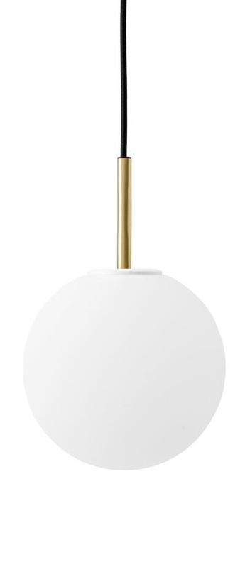 Suspension tr bulb blanc o20cm h22cm menu normal