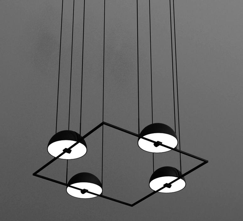 Trapeze quartette jette scheib suspension pendant light  oblure quartette jstr2003  design signed 57028 product