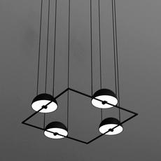 Trapeze quartette jette scheib suspension pendant light  oblure quartette jstr2003  design signed 57028 thumb