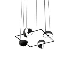 Trapeze quartette jette scheib suspension pendant light  oblure quartette jstr2003  design signed 57029 thumb