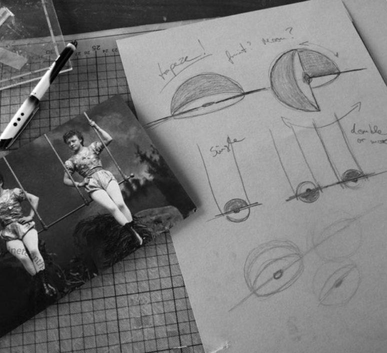Trapeze quartette jette scheib suspension pendant light  oblure quartette jstr2003  design signed 57031 product