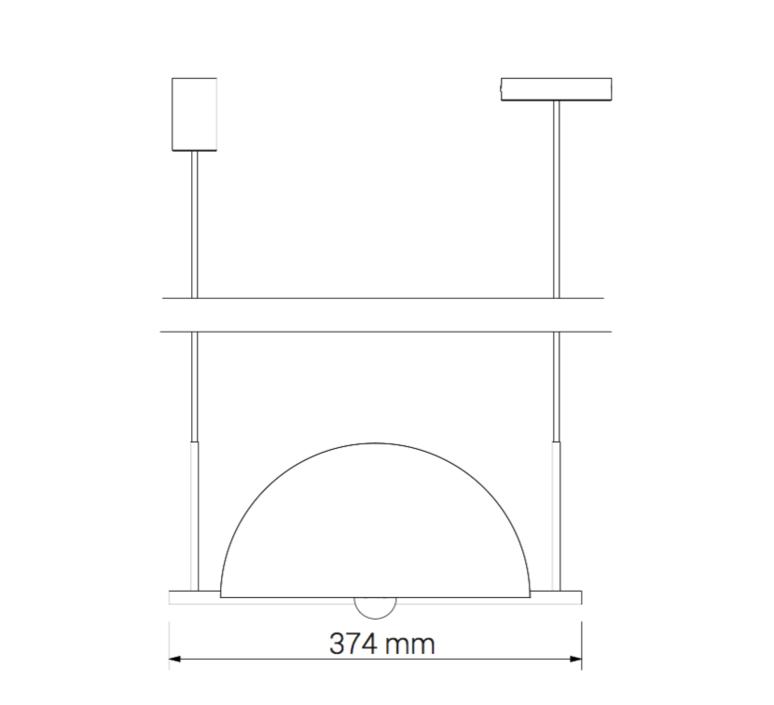Trapeze quartette jette scheib suspension pendant light  oblure quartette jstr2003  design signed 57033 product