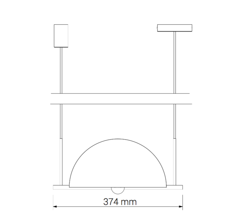 Trapeze triplette jette scheib suspension pendant light  oblure triplette jstr2003  design signed 58337 product
