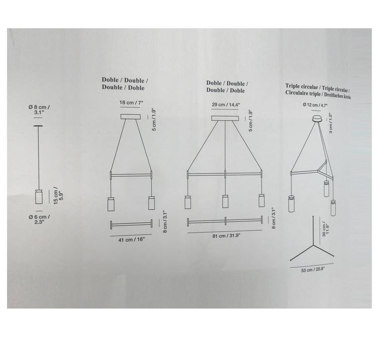 Triana la produqtora suspension pendant light  carpyen 1411210  design signed nedgis 69691 product