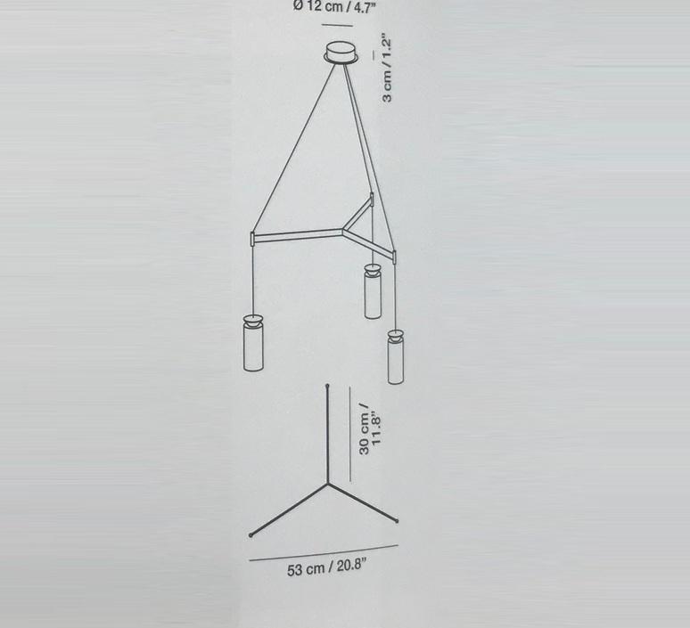 Triana triple circular la produqtora suspension pendant light  carpyen 1411000 acc1005  design signed nedgis 69725 product