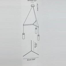 Triana triple circular la produqtora suspension pendant light  carpyen 1411000 acc1005  design signed nedgis 69725 thumb