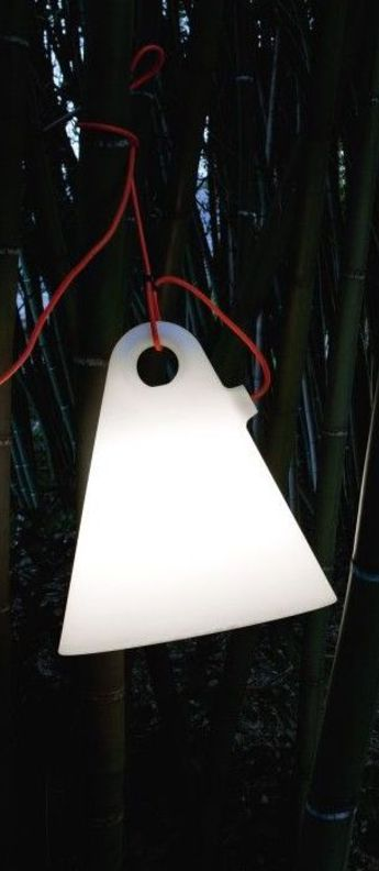 Suspension trilly m blanc led o45cm h50cm martinelli luce normal