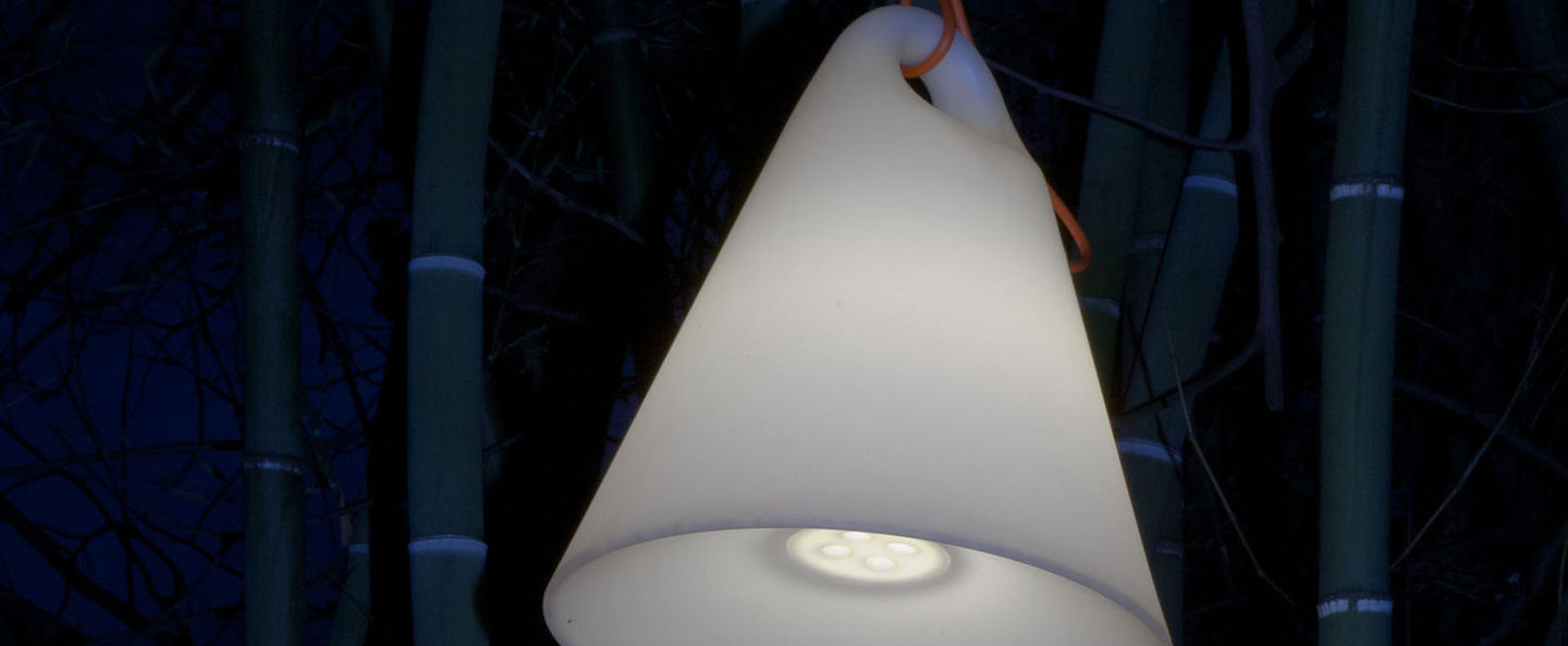 Suspension trilly s blanc led o27cm h36cm martinelli luce normal