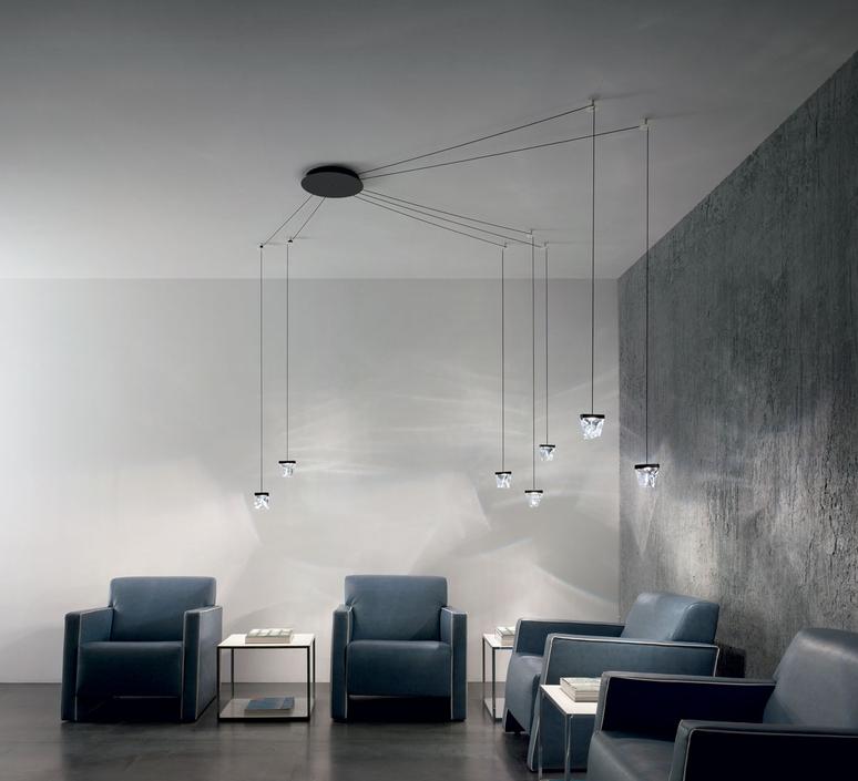 Tripla devis busato giulia ciccarese suspension pendant light  fabbian f41l0176  design signed nedgis 113474 product