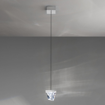 Suspension tripla f41 aluminium led l9 8cm h7 5cm fabbian normal