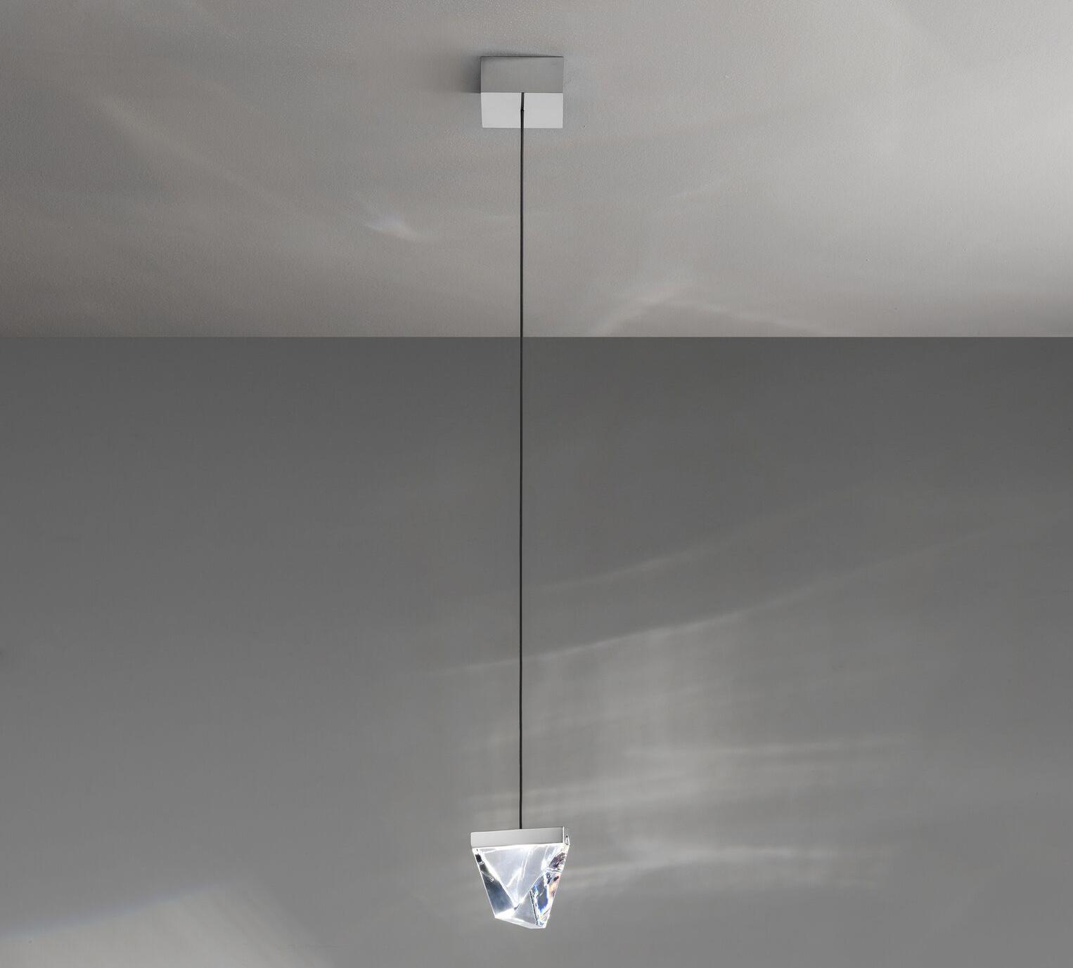 pendant light tripla f41 aluminium led l9 8cm h7 5cm fabbian