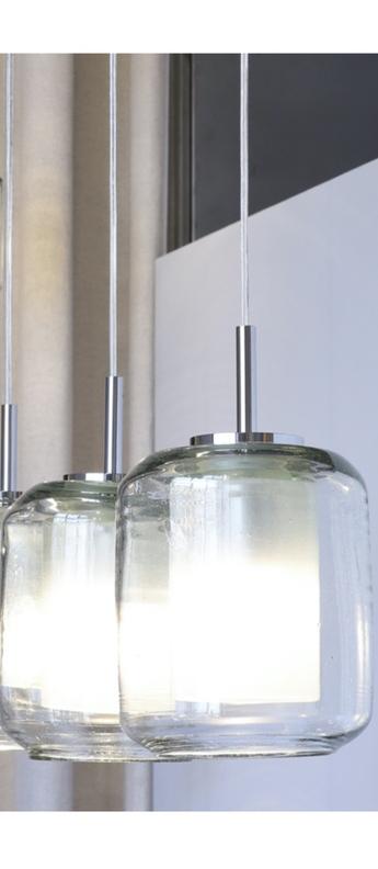 Suspension trufa classic transparent l18cm h31cm david pompa normal