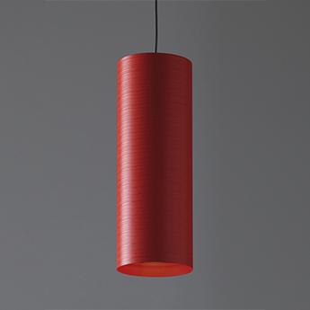 Suspension tube 30 rouge o10cm h30cm karboxx normal