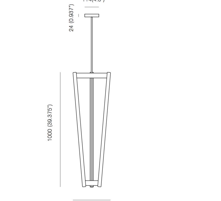 Tube michael anastassiades suspension pendant light  anastassiades ma tcsbr  design signed 39717 product