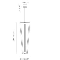Tube michael anastassiades suspension pendant light  anastassiades ma tcsbr  design signed 39717 thumb