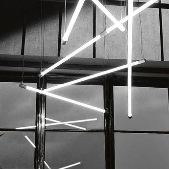 Suspension tube systeme shanghai blanc l151cm martinelli luce normal