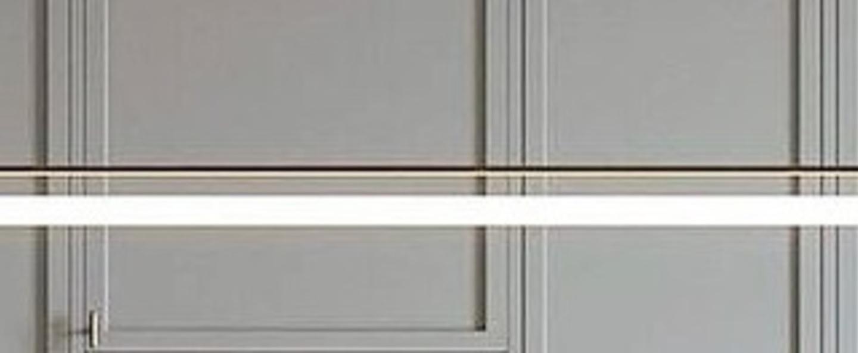 Suspension tubus pendant laiton l120cm h100cm contain normal
