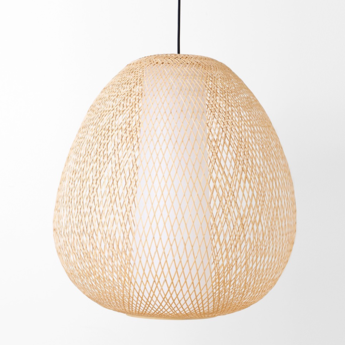 Suspension twiggy egg naturel o60cm h60cm ay illuminate normal