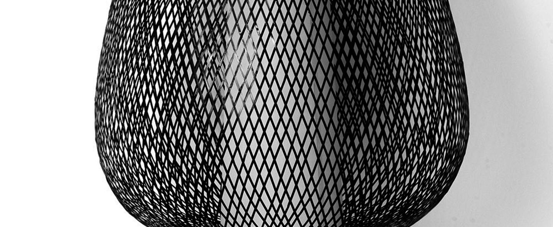 Suspension twiggy egg noir o60cm h60cm ay illuminate normal