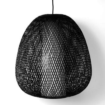 Suspension twiggy egg noir o60cm h60cm ay illuminate normal