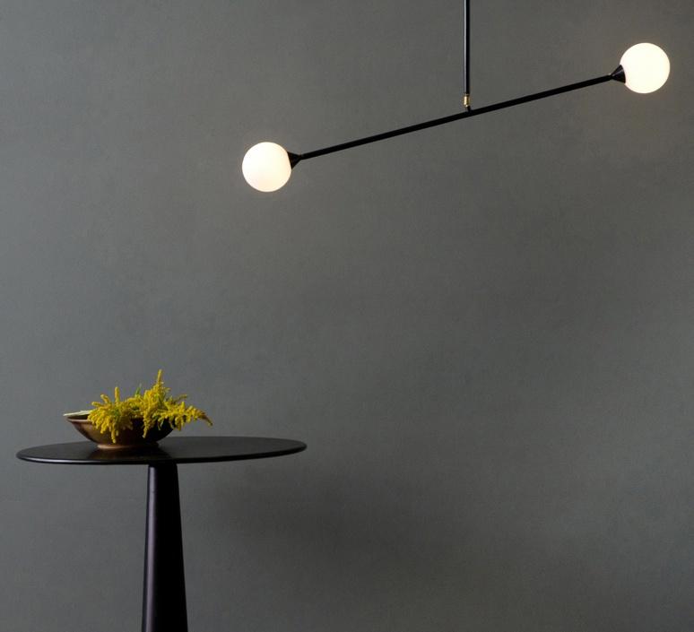 Two spheres gwendolyn et guillane kerschbaumer suspension pendant light  atelier areti atelier areti two spheres pendant  design signed 34869 product
