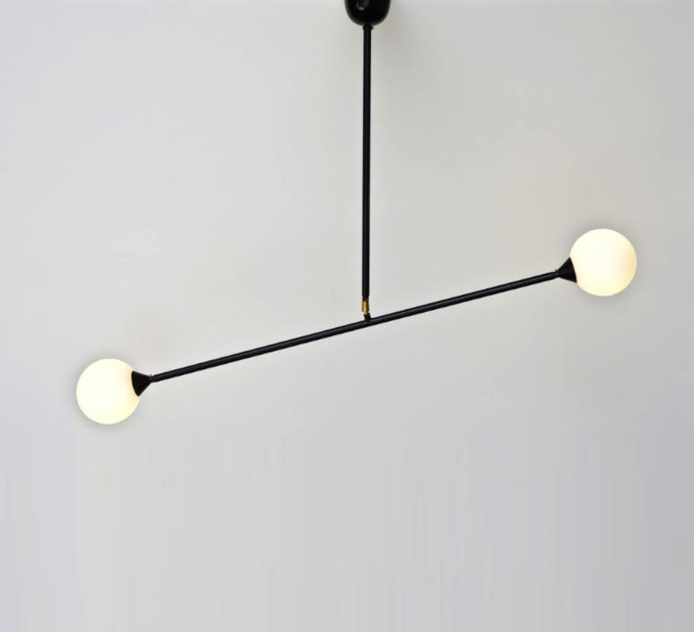 Two spheres gwendolyn et guillane kerschbaumer suspension pendant light  atelier areti atelier areti two spheres pendant  design signed 34870 product