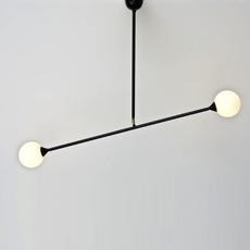 Two spheres gwendolyn et guillane kerschbaumer suspension pendant light  atelier areti atelier areti two spheres pendant  design signed 34870 thumb