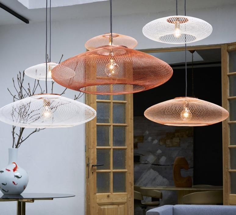Ufo large  suspension pendant light  atelier robotiq ufo large copper  design signed 42987 product
