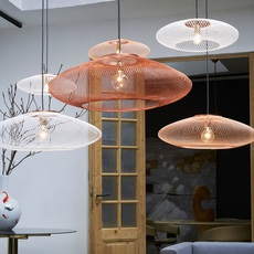 Ufo large  suspension pendant light  atelier robotiq ufo large copper  design signed 42987 thumb