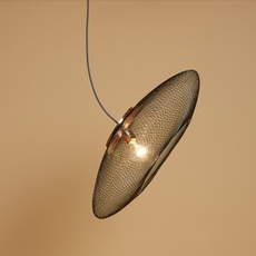 Ufo large  suspension pendant light  atelier robotiq ufo large black  design signed 42992 thumb