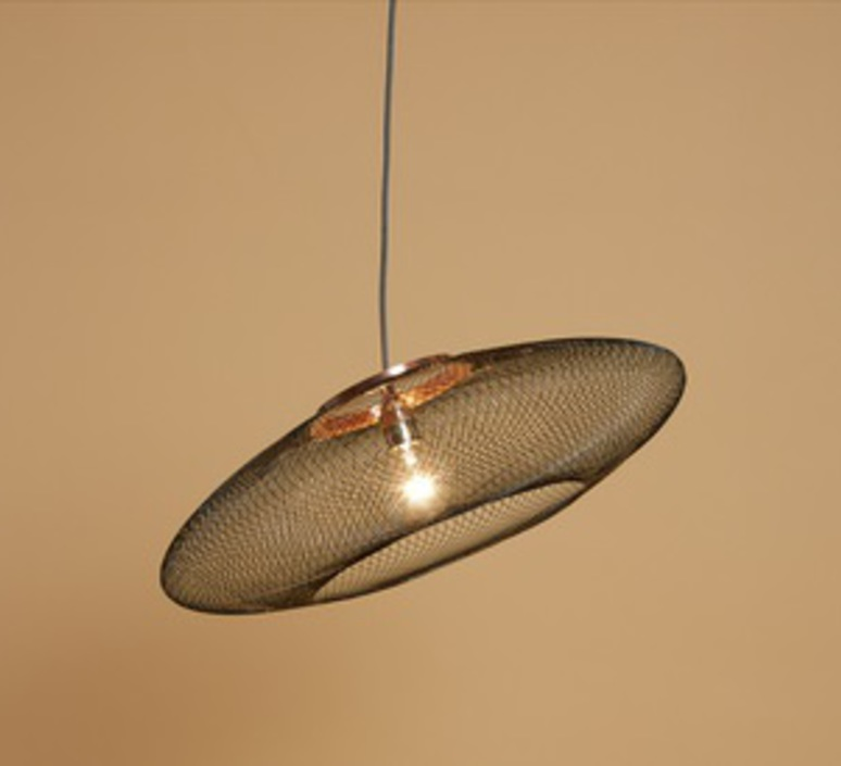 Ufo large  suspension pendant light  atelier robotiq ufo large black  design signed 42993 product