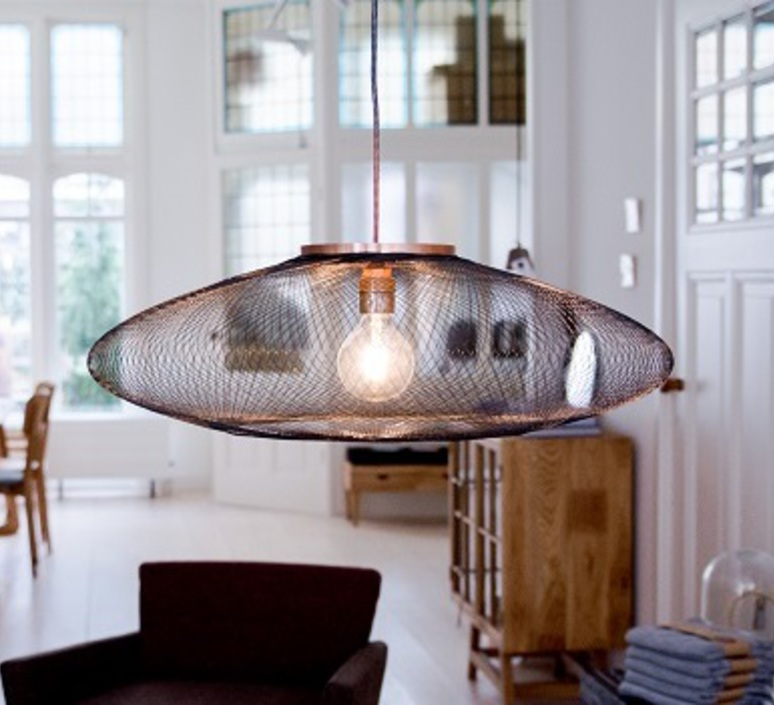 Ufo large  suspension pendant light  atelier robotiq ufo large black  design signed 42996 product