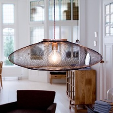 Ufo large  suspension pendant light  atelier robotiq ufo large black  design signed 42996 thumb