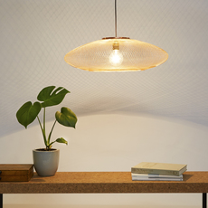 Ufo medium  suspension pendant light  atelier robotiq ufo medium lightcopper  design signed 42960 thumb
