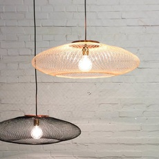 Ufo medium  suspension pendant light  atelier robotiq ufo medium lightcopper  design signed 42961 thumb