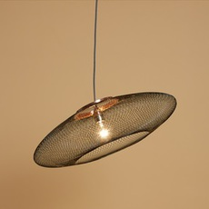 Ufo medium  suspension pendant light  atelier robotiq ufo medium black  design signed 42967 thumb
