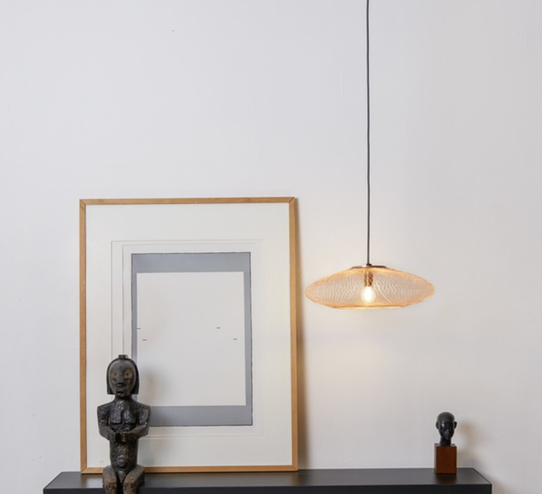 Ufo small  suspension pendant light  atelier robotiq ufo small lightcopper  design signed 42946 product