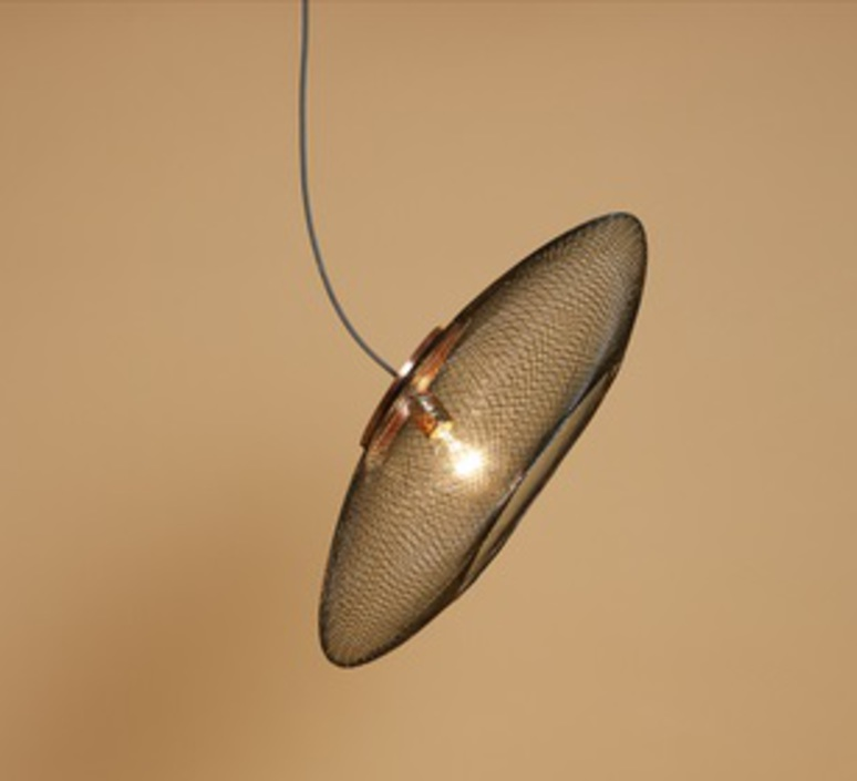 Ufo small  suspension pendant light  atelier robotiq ufo small charcoalblack  design signed 42939 product