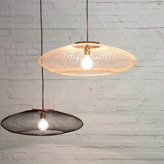 Ufo small  suspension pendant light  atelier robotiq ufo small charcoalblack  design signed 42942 thumb
