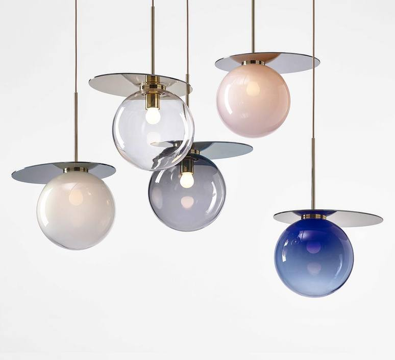 Umbra studio dechem suspension pendant light  bomma 1 80 95111 1 00blu 350 b   design signed 47398 product